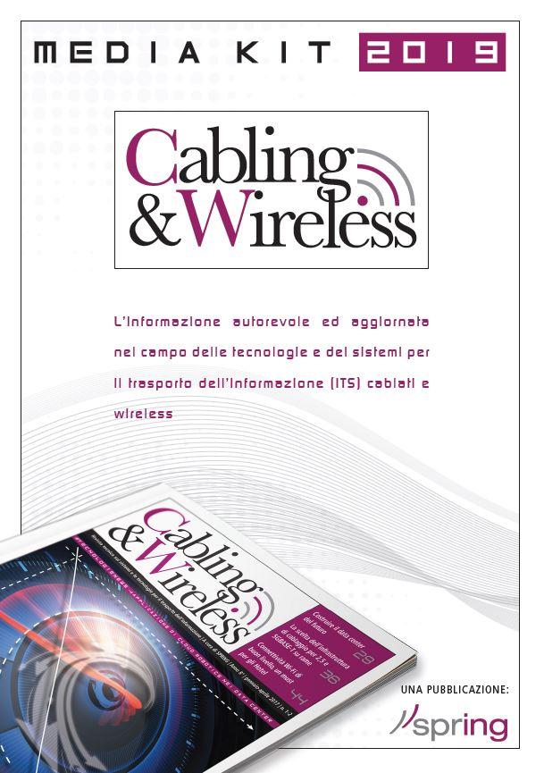 Media Kit pubblicità su Cabling & Wireless