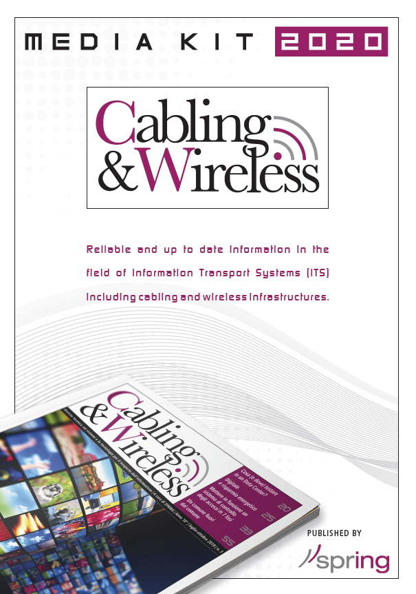 Media Kit advertising Cabling & Wireless
